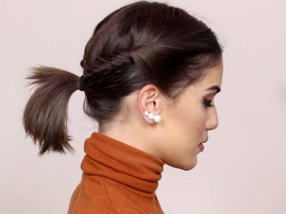 Cute Updos for Short Hair Easy to Do