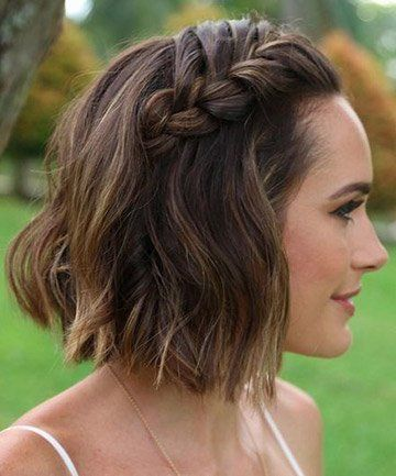 Gorgeous Updos for Short Hair Easy to Do